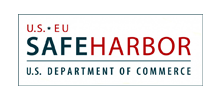 US EU Safe Harbor Logo - Participant in the US-EU Safe Harbor program for data security and compliance