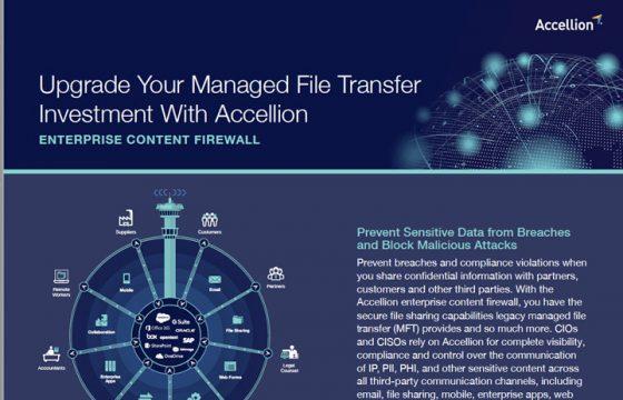 Datasheet - Managed File Transfer