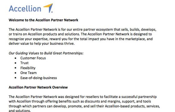 Product Brief - Welcome to the Accellion Partner Network