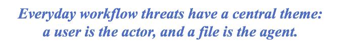 Everyday Workflow Threats