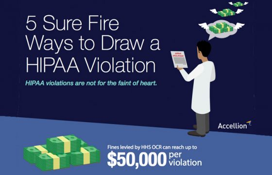 5 Sure Fire Ways to Draw a HIPAA Violation