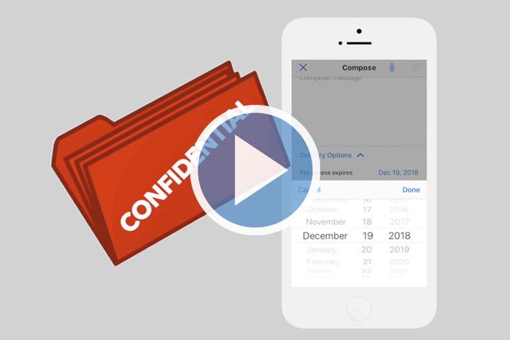 Customer Success video: Secured Shared Folder