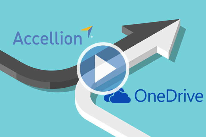 Accellion's OneDrive Integration