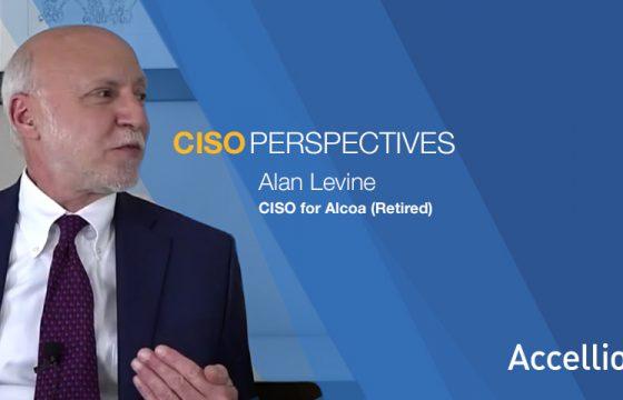 Alan Levine, CISO for Alcoa (retired)