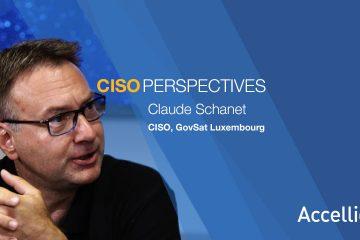 Claude Schanet, CISO, GovSat Luxembourg