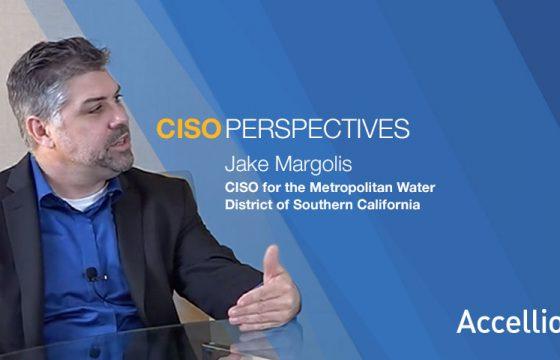 Jake Margolis, CISO, Metro Water District for So. Cal