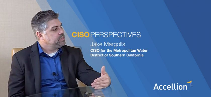 Jake Margolis, CISO, Metro Water District for So. Cal