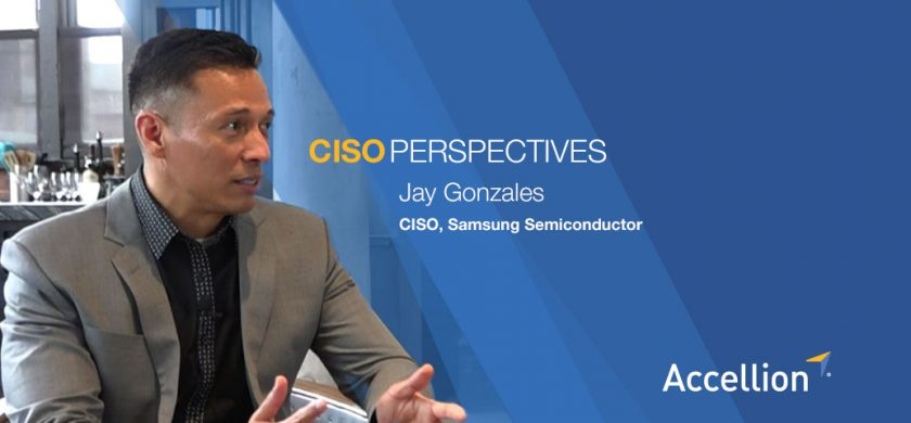Jay Gonzales, CISO, Samsung Semiconductor