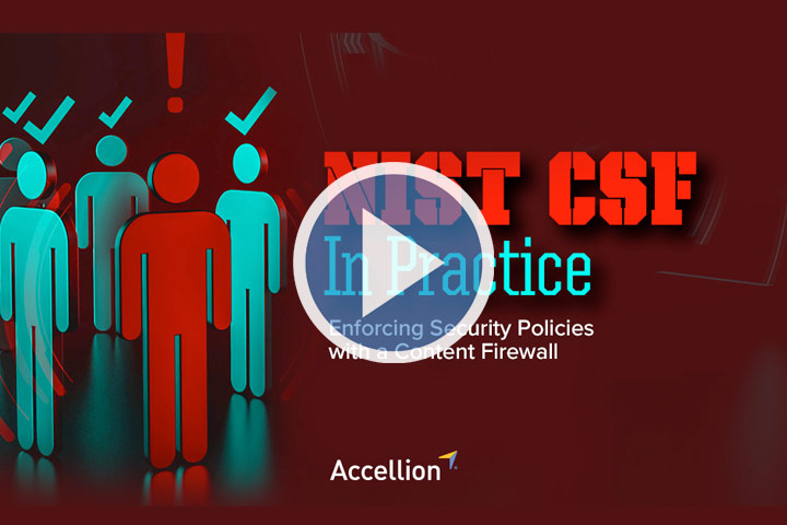 Webinar: NIST CSF in Practice