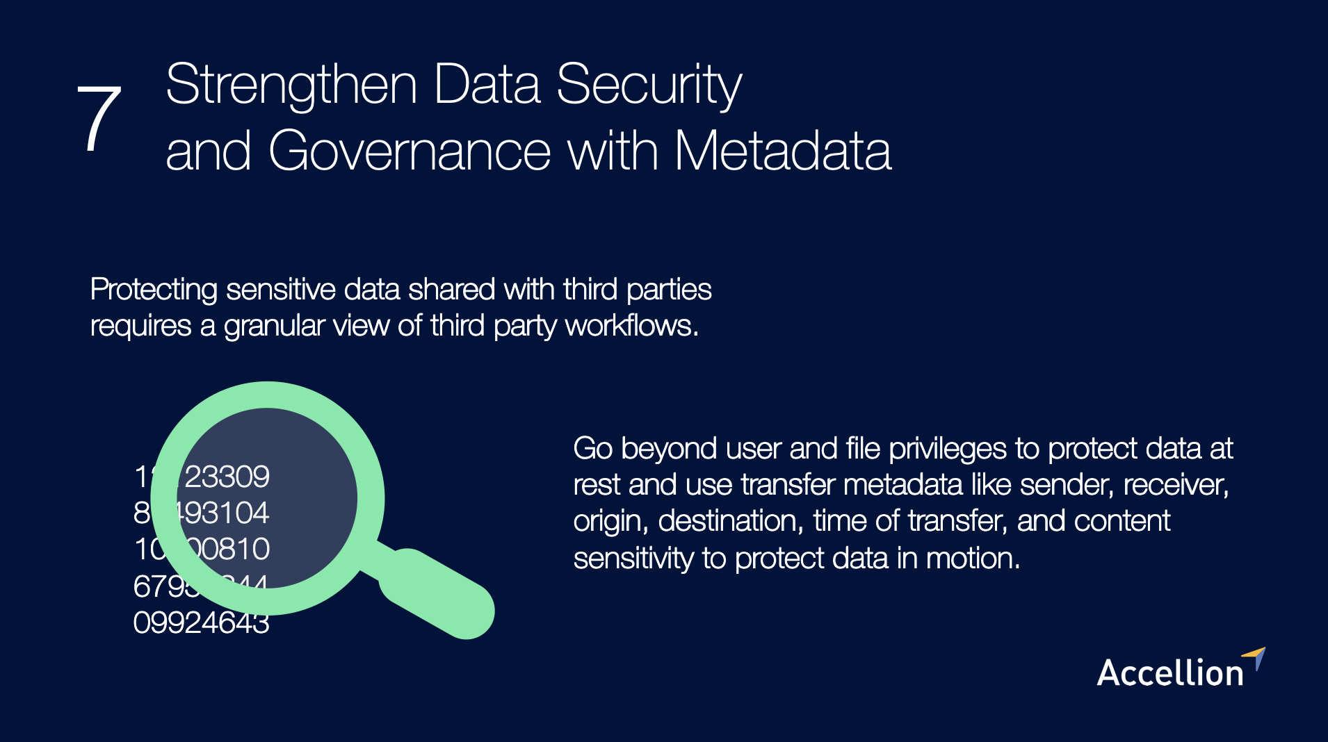 Strengthen data security and governance with metadata