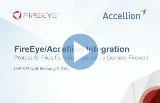 Accellion FireEye integration