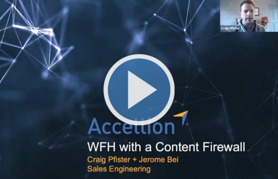 Webinar - WFH with a Content Firewall