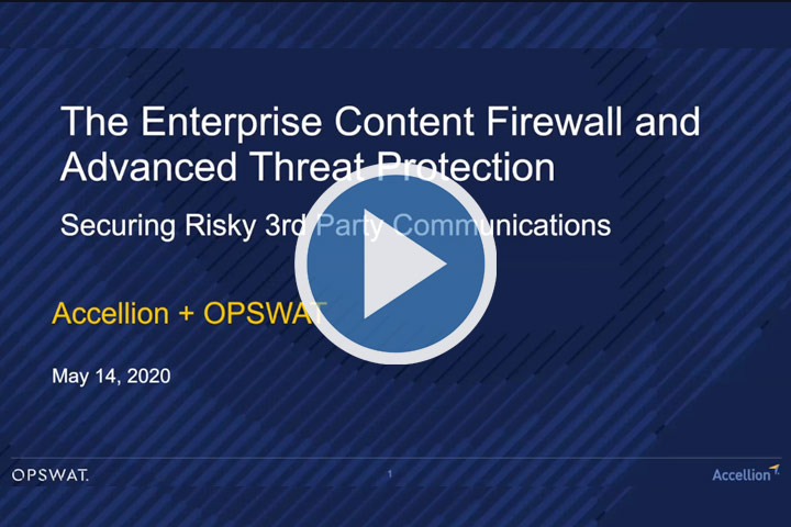 Webinar: The Enterprise Content Firewall and Advanced Threat Protection