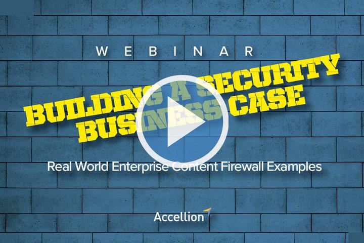 Webinar: Building a Security Business Case