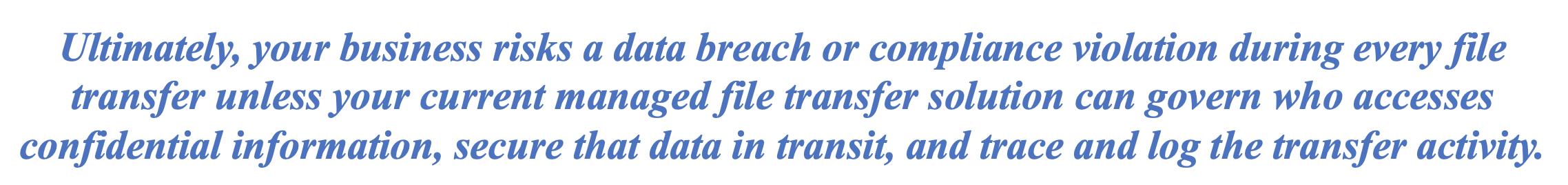 Modern Secure Managed File Transfer Solution